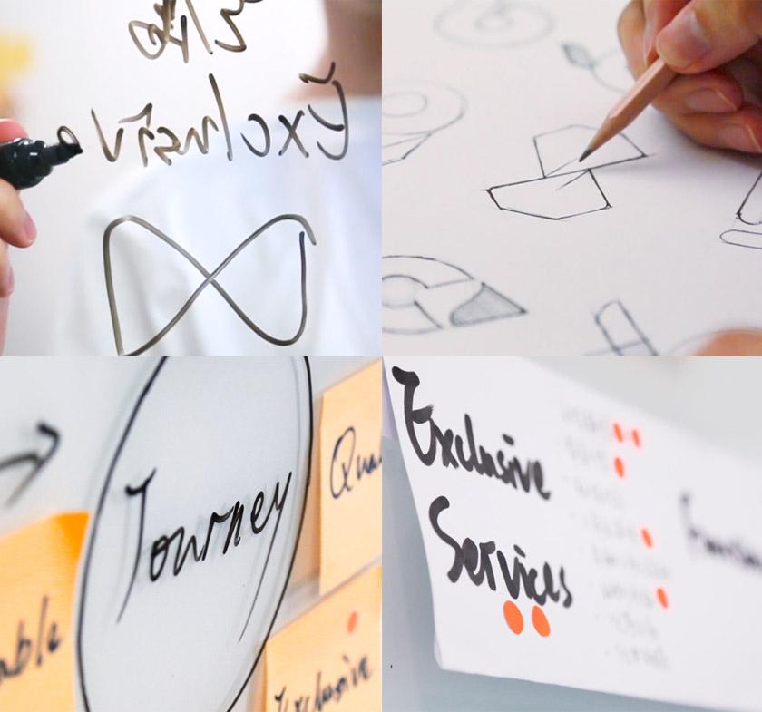 礼橙专车logo手绘稿